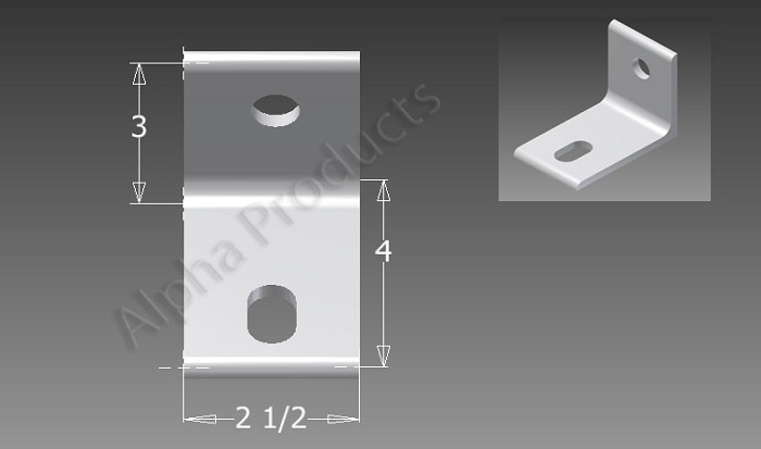 AP-B1512 Tub Closure Bracket