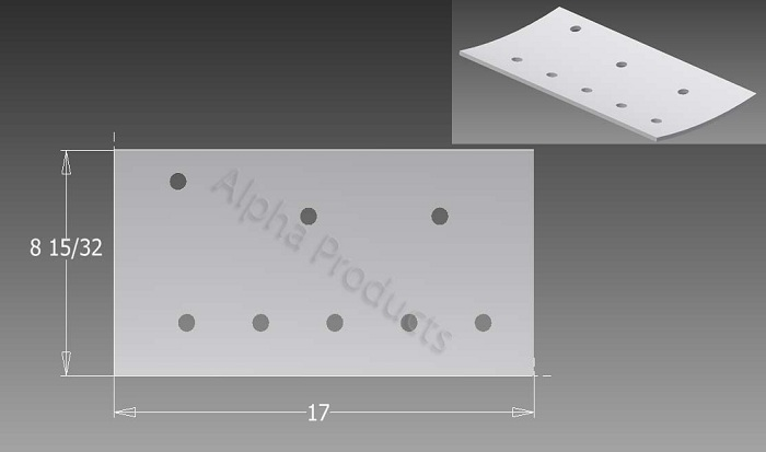 AP-B612 Tub Floor Reinforcement Plate