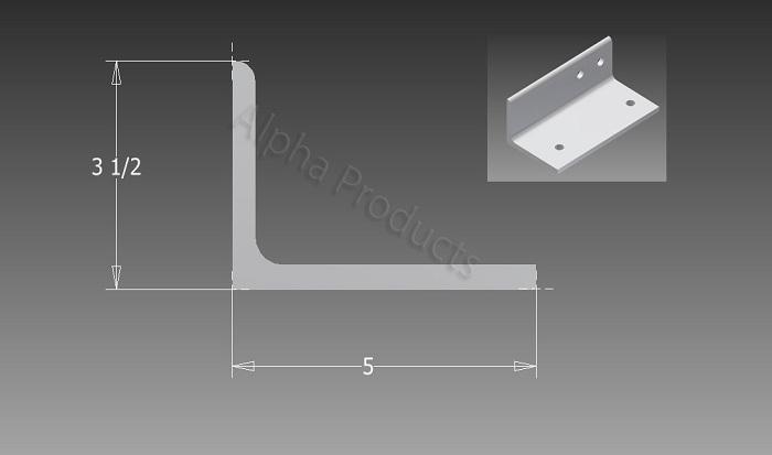 AP-B710(right) Y-Shaped Angle Bracket