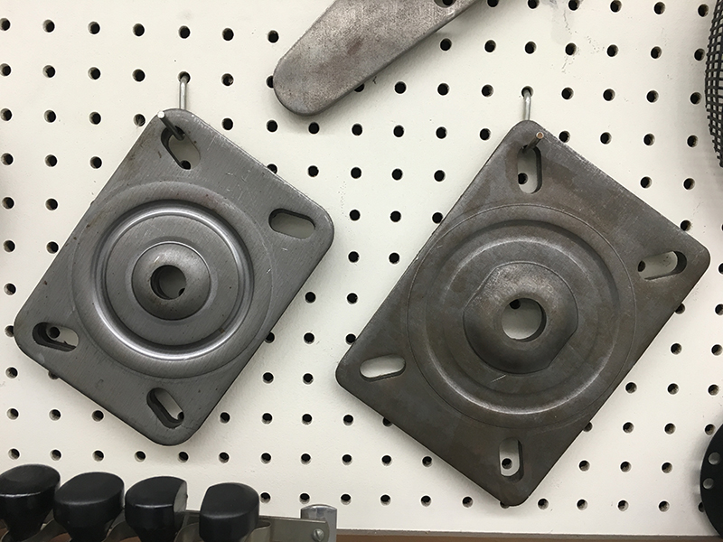 Caster Plates