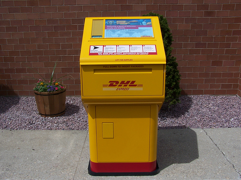 DHL Parcel Collection Box