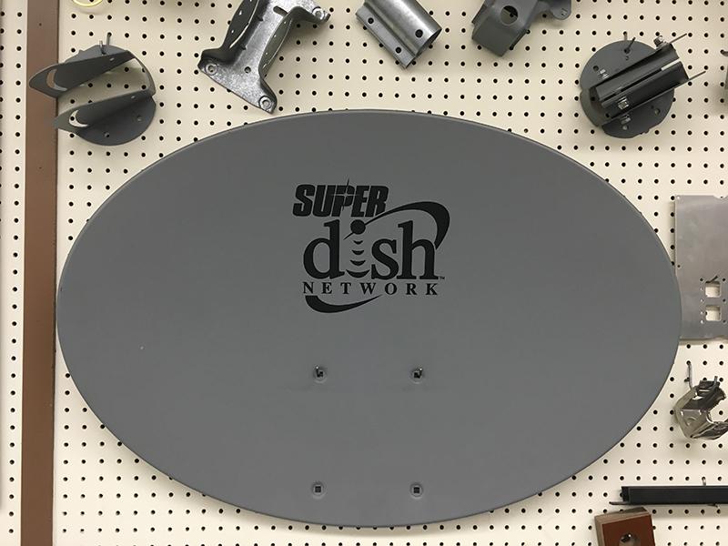 SATCOM Satellite Dish